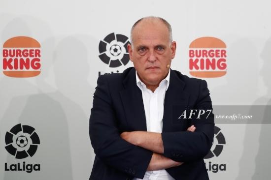 FOOTBALL - LALIGA - PRESENTATION OF BURGER KING SPONSORSHIP TO LALIGA