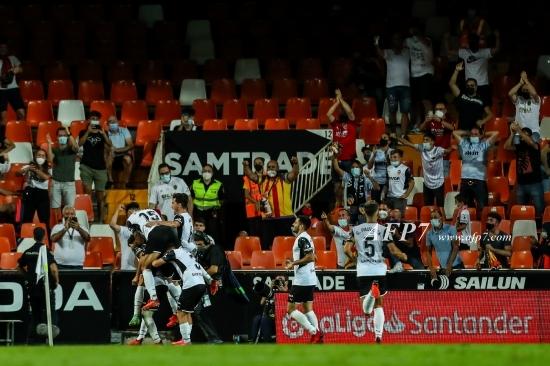 FOOTBALL - LA LIGA SANTANDER - VALENCIA V REAL MADRID