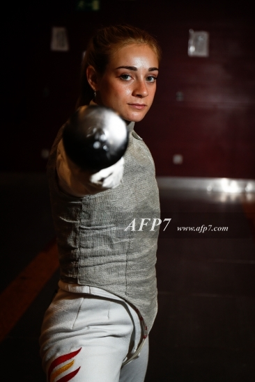FENCING - TERESA DIAZ PHOTO SESSION FOR INTERVIEW